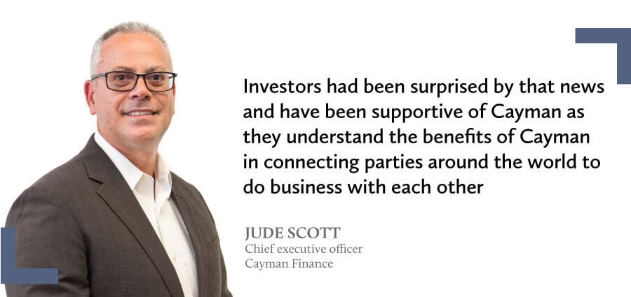 Testimonial from Jude Scott - Cayman Finance