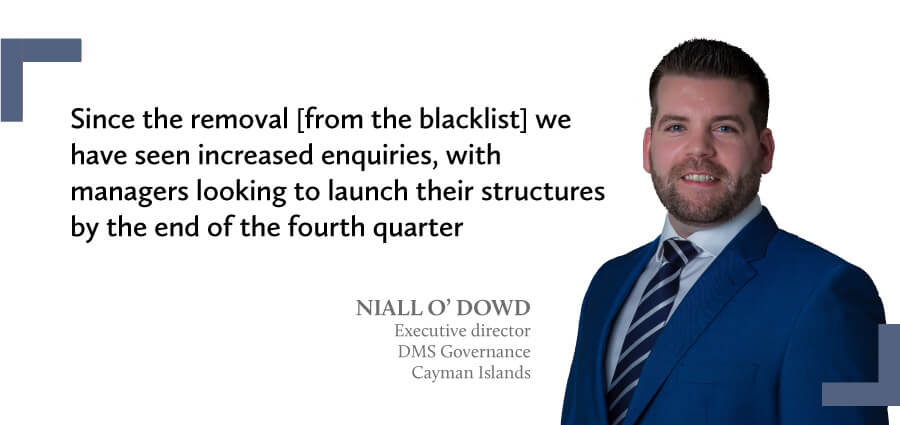 Commentary from Niall O'Dowd - Waystone Cayman Islands