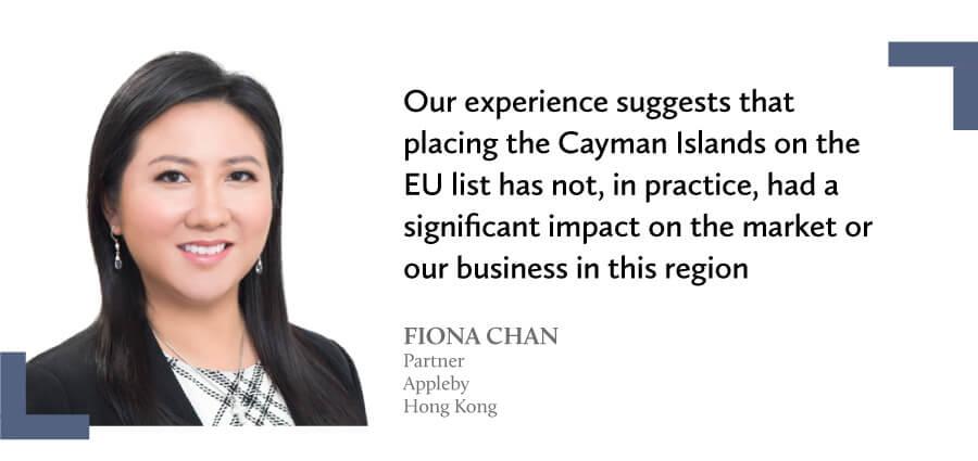 Testimonial from Fiona Chan - Appleby Hong Kong