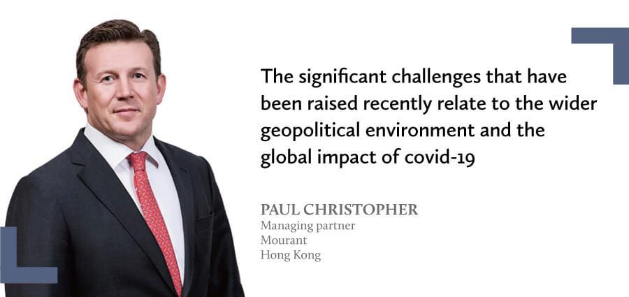 Testimonial from Paul Christopher - Mourant Honk Kong